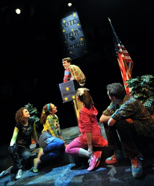 Photo Flash: Marriott Theatre's HOW CAN YOU RUN WITH A SHELL ON YOUR BACK