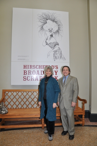 Louise Kerz Hirschfeld and David Leopold