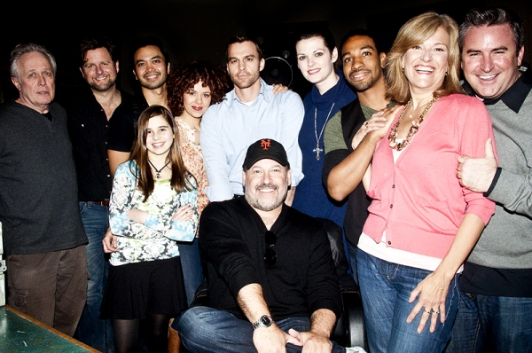 Photo Coverage: WONDERLAND Cast in the Recording Studio