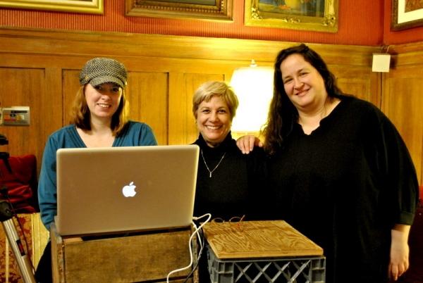 associate Kimberly Graham, Judy Henderson and accompanist Rachel Kaufman  Photo