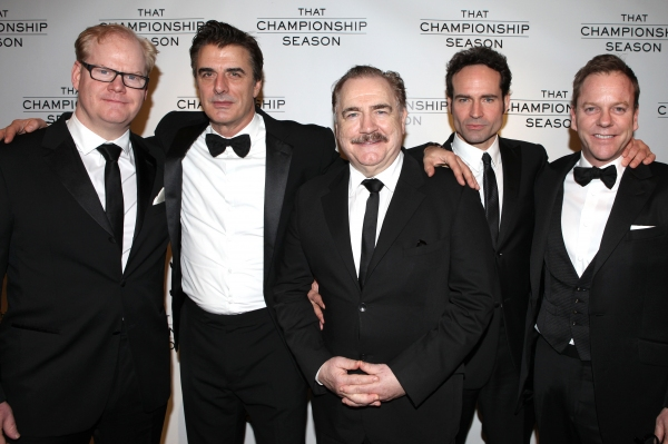 Jim Gaffigan, Chris Noth, Brian Cox, Jason Patric and Kiefer Sutherland  attending th Photo