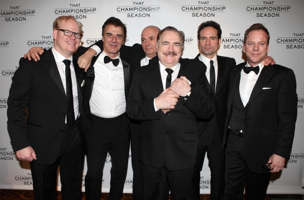 Jim Gaffigan, Chris Noth, Gregory Mosher, Brian Cox, Jason Patric and Kiefer Sutherla Photo