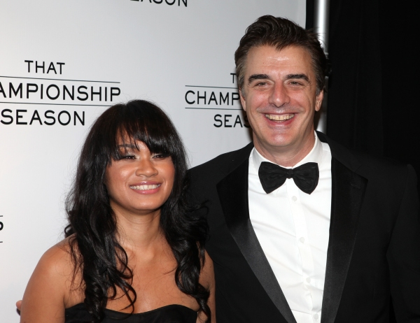 Tara Wilson and Chris Noth attending the Opening Night Performance After Party for  'That Championship Season' at Gotham Hall in New York City.