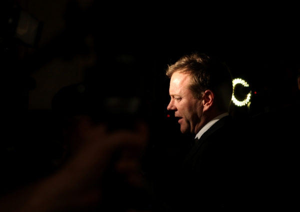 Kiefer Sutherland attending the Opening Night Performance After Party for  'That Championship Season' at Gotham Hall in New York City.