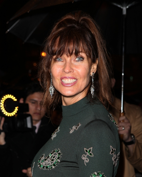 Carol Alt attending the Opening Night Performance of  'That Championship Season' at the Bernard B. Jacobs Theatre  in New York City. at THAT CHAMPIONSHIP SEASON Arrivals