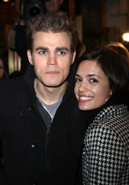 Paul Wesley & family attending the Opening Night Performance of  'That Championship S Photo