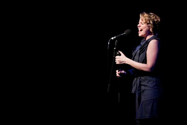 Rebecca Lock at Hadley Fraser, Rosalie Craig, et al. Sing Bobby Cronin