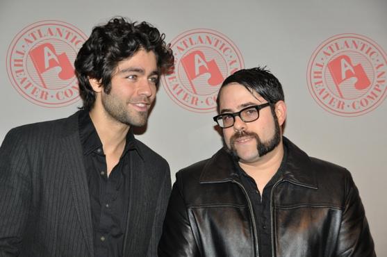 Adrian Granier and Damien Paris