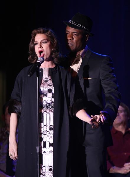 Beth Leavel & Allan Louis performing a Sneek Peek of the New Broadway Musical  'Baby  Photo