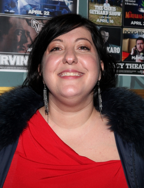 Ashlie Atkinson attending The 24 Hour Musicals After Party at the Gramercy Theatre in New York City.
