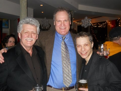 BH Barry, Jay O' Sanders and Ken Shatz (pirate and Music Director)