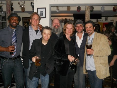 Lindsay Smiling, Steve Blanchard, Ken Shatz, John Ahlin, Philip Willingham, Tom Beckett and Michael Gabriel Goodfriend