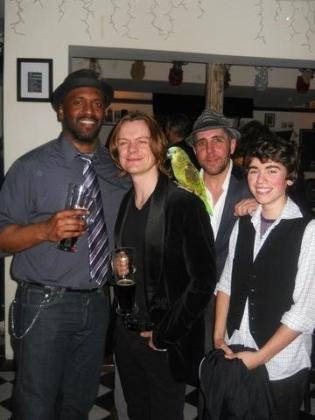 Lindsay Smiling, Philip Willingham with Maui, Tom Beckett and Noah E. Galvin