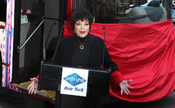 Photo Coverage: Gray Line's 'Ride Of Fame' Campaign Honors Liza Minnelli