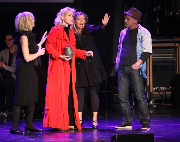 Debby Boone, Nellie McKay, Jeffrey Kuhn & Savannah Wise Performing in 'Things Can't always Be Awesome' at The 24 Hour Musicals after performance party at the Gramercy Theatre in New York City. at The 24 Hour Musicals-THINGS CAN'T ALWAYS BE AWESOME