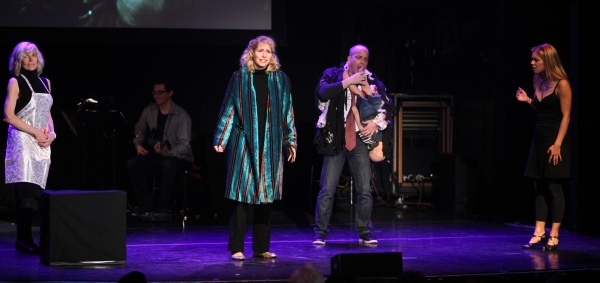 Debby Boone, Nellie McKay, Jeffrey Kuhn & Savanna Wise Performing in 'Things Can't always Be Awesome' at The 24 Hour Musicals after performance party at the Gramercy Theatre in New York City.