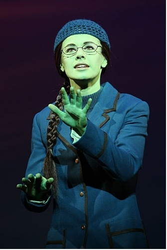 Wicked Production Photo - Teal Wicks