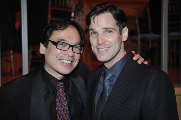 David Lai with Hugh Panaro Photo
