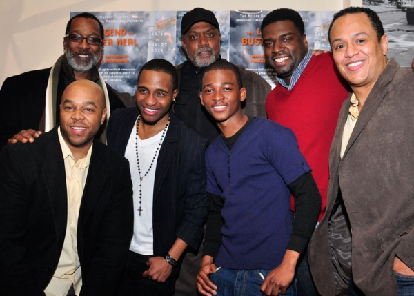 Cast with Jackie Alexander at LEGEND OF BUSTER NEAL Celebrates Opening Night