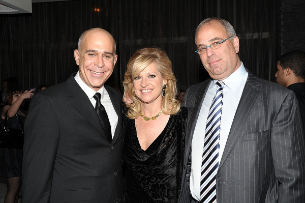 Michael Weber, Mindy Grossman, Neil Grossman Photo