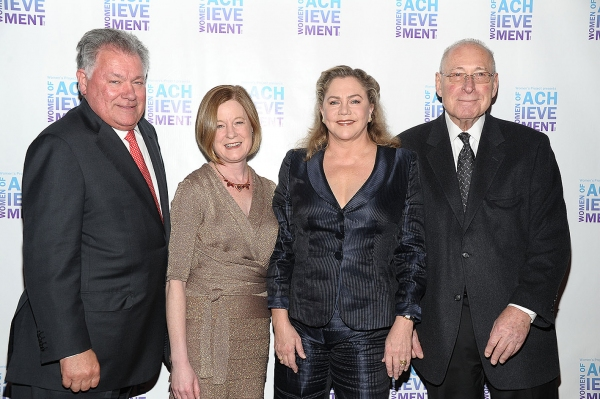 Robert E.Wankel, Julie Crosby, Kathleen Turner, Len Soloway at 2011 Women's Project 'Women of Achievement' Gala