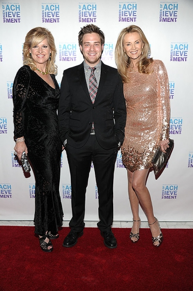 Mindy Grossman, Ben Rappaport, Bonnie Pfeifer Evans Photo