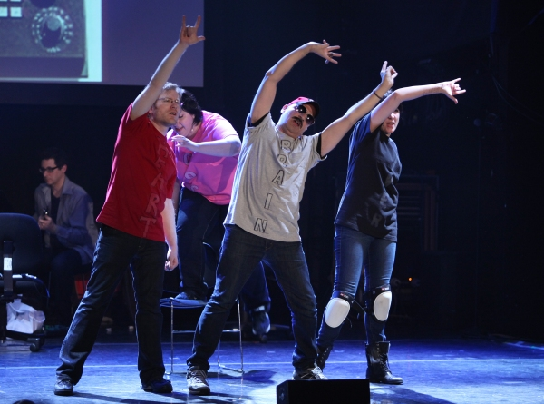 Photos: The 24 Hour Musicals - Anthony Rapp in THE WORLD IS ENDING