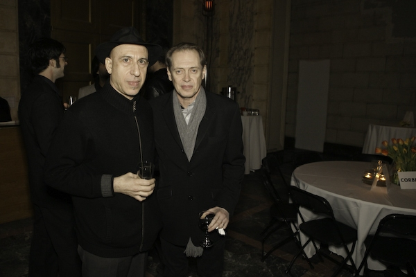 Elliott Sharp, Steve Buscemi at Steve Buscemi Hosts ISSUE PROJECT ROOM Benefit