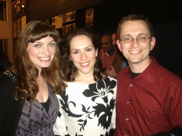 Harmony France, Elizabeth Lanza, and Eddie Sugarman