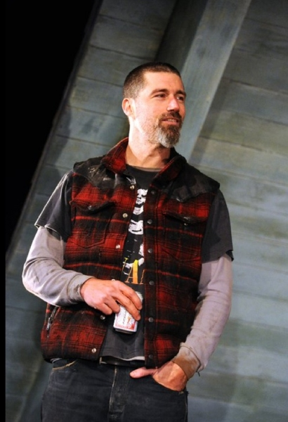 Matthew Fox at Photos: Williams & Fox in LaBute's IN A FOREST DARK AND DEEP On Stage in the West End!