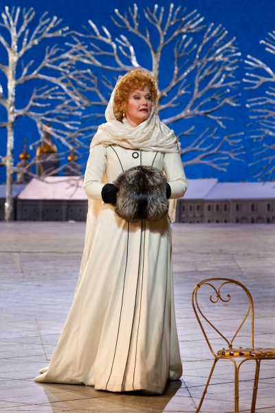 "Karita Mattila as Lisa in Tchaikovsky's ""The Queen of Spades."" Photo: Marty Sohl/Metropolitan Opera  Taken at the rehearsal on March 3, 2011 at the Metropolitan Opera in New York City."
