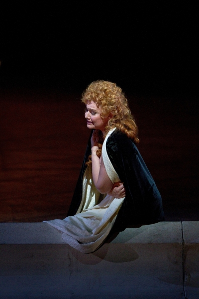 "Karita Mattila as Lisa in Tchaikovsky's ""The Queen of Spades."" Photo: Marty Sohl/Metropolitan Opera  Taken at the rehearsal on March 4, 2011 at the Metropolitan Opera in New York City."