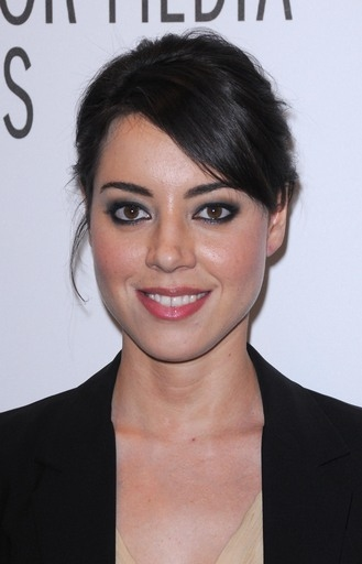 Aubrey Plaza at 'Parks and Recreation' at PaleyFest 2011