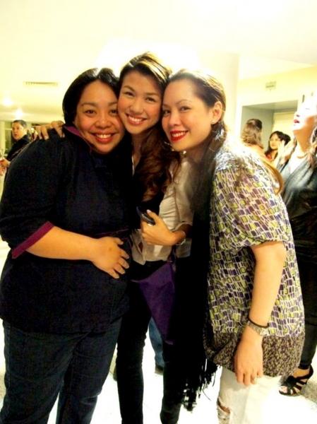 Chari Arespacochaga, Yanah Laurel, Shiela Valderama-Martinez Photo