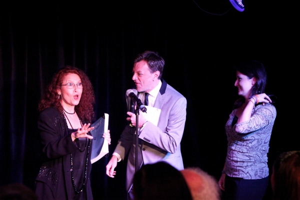 Melissa Manchester, Jim Caruso and Hannah Manchester