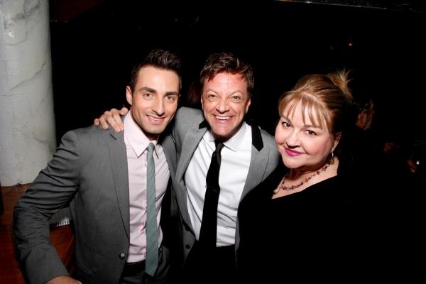 Scott Nevins, Jim Caruso and Beverly Cavaliere