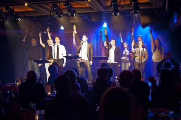 Brad Nacht, Collin Leydon, Matt Lutz, Howie Michael Smith, Derek Roland, Robyn Corujo Photo