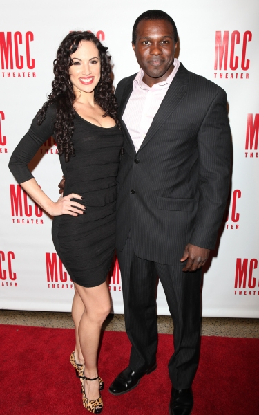 Nina Lafarga & Joshua Henry attending the MISCAST 2011 MCC Theater's Annual Musical Gala in New York City.