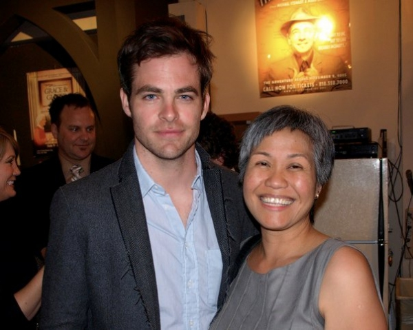 Chris Pine and Lily Lim at 42nd Annual LADCC Awards