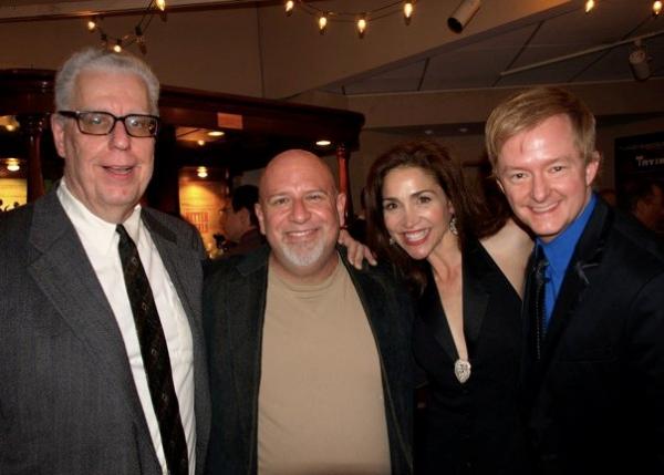 Bob Verini, Gerald Sternbach, Stasha Surdyke, and Kyle Nudo
