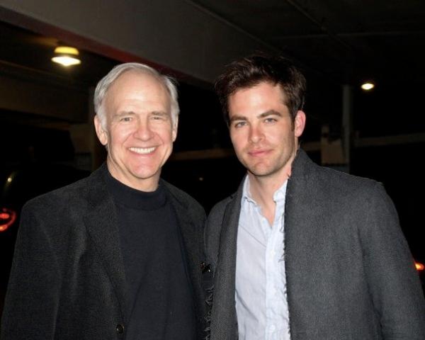 Robert Pine and Chris Pine