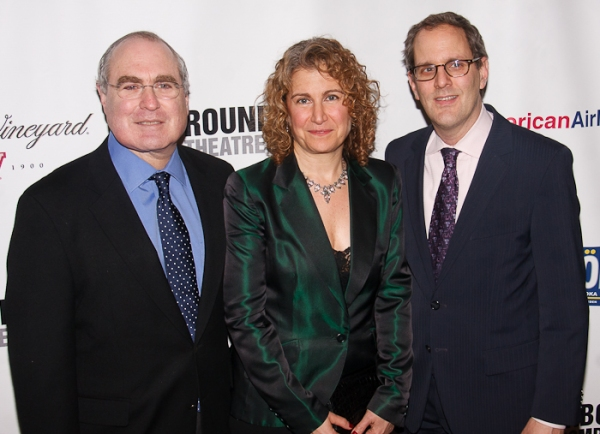 Todd Haimes, Julia Levy, and Harold Wolpert Photo