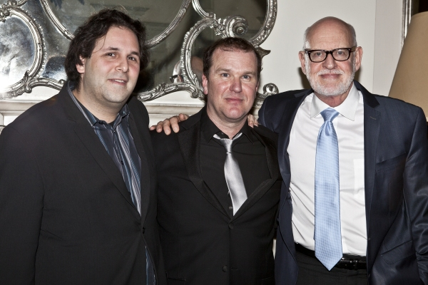 David Babani, Douglas Hodge and Frank Oz