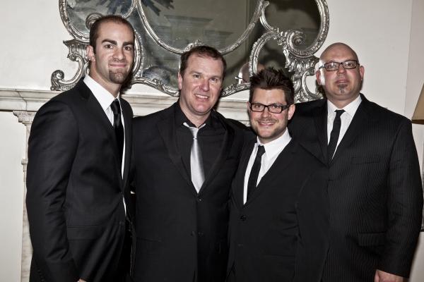 Jared Schonig, Douglas Hodge, Sonny Paladino and Steve Millhouse Photo