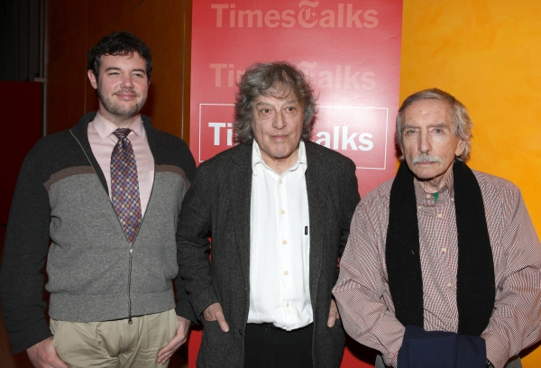 Photo Coverage: Times Talks - A Conversation with Tom Stoppard