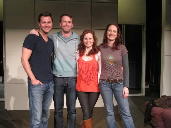 Matthew Hydzik, D.B. Bonds, Autumn Hurlbert, Mary Mossberg                               at Meet the Cast of TOMORROW MORNING