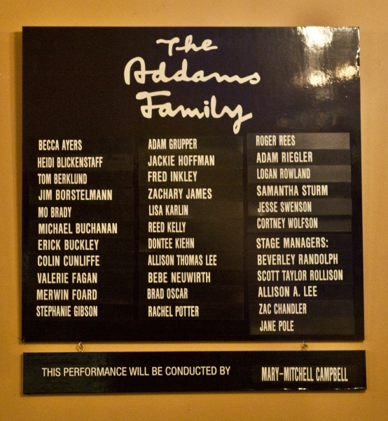 UP ON THE MARQUEE: The New ADDAMS FAMILY Cast!