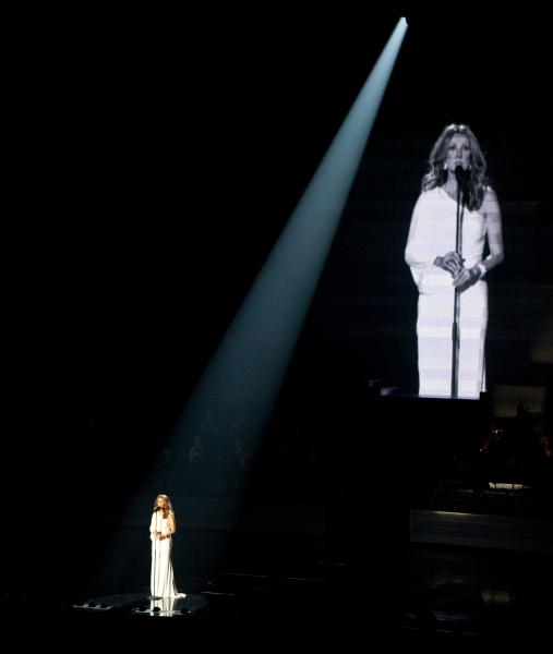 Photo Coverage: Celine Dion Returns to Las Vegas