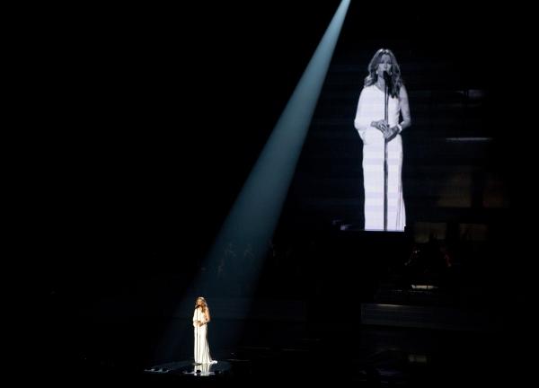 Celine Dion at Celine Dion Returns to Las Vegas