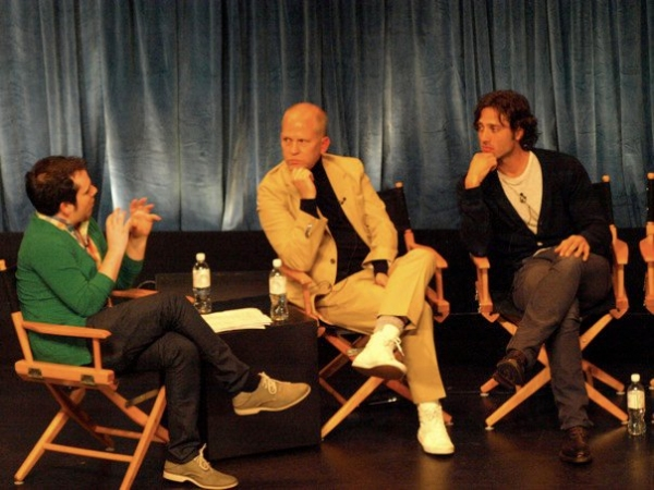 Tim Stack, Ryan Murphy, Brad Falchuk at GLEE Cast Returns To PaleyFest